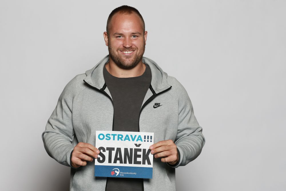 Shot put star Staněk is looking forward to the fans at the stadium